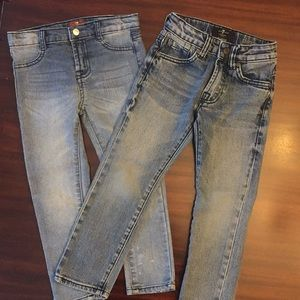 7 for all mankind skinny jeans boys bundle 4/4t